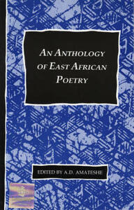 Anthology of East African Poetry Paper - cover