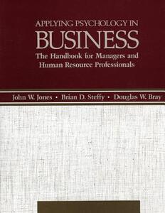 Applying Psychology in Busine CB - Jones/Steffy/Bray - cover