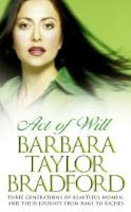 Act of Will - Barbara Taylor Bradford - cover
