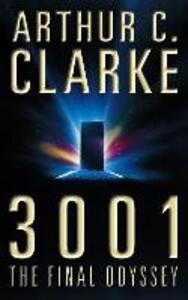 3001: The Final Odyssey - Arthur C. Clarke - cover