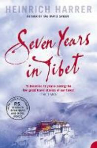 Seven Years in Tibet - Heinrich Harrer - cover