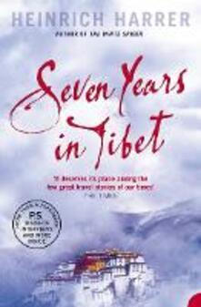 Seven Years in Tibet - Heinrich Harrer - cover