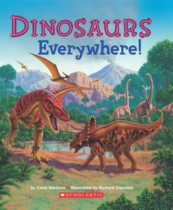 Dinosaurs Everywhere - Carol Sumerel Harrison,Carol Harrison - cover