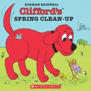 Clifford's Spring Clean-up - Norman Bridwell - cover