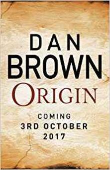Origin - Dan Brown - cover