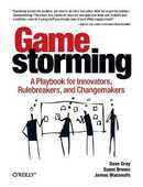 Libro in inglese Gamestorming: A Playbook for Innovators, Rulebreakers, and Changemakers Dave Gray Sunni Brown James Macanufo