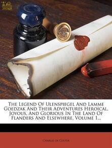The Legend of Ulenspiegel, Vol. II (of 2)