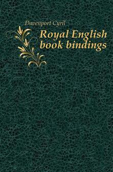 Royal English Bookbindings