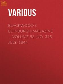 Blackwood's Edinburgh Magazine II