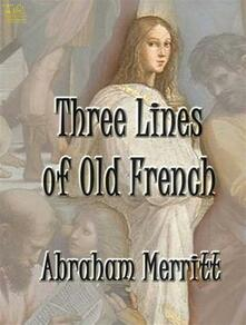 Three Lines of Old French