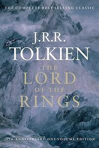 The Lord of the Rings - J R R Tolkien - cover