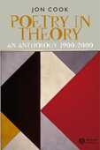 Libro in inglese Poetry in Theory: An Anthology 1900-2000 Jon Cook