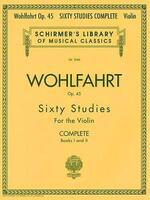 Franz Wohlfahrt - 60 Studies, Op. 45 Complete: Books 1 and 2