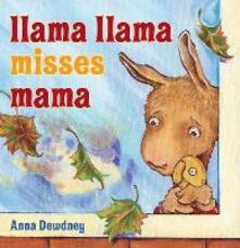 Llama Llama Misses Mama - Anna Dewdney - cover