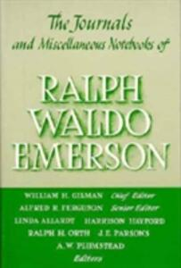 Journals and Miscellaneous Notebooks of Ralph Waldo Emerson, Volume XIII: 1852-1855 - Ralph Waldo Emerson - cover