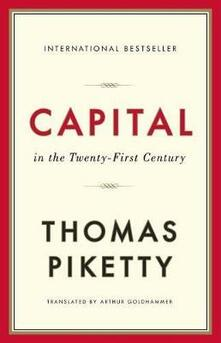 Capital in the Twenty-First Century - Thomas Piketty - cover