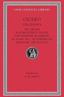 Pro Archia - Marcus Tullius Cicero - cover
