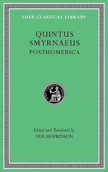 Posthomerica - Quintus Smyrnaeus - cover