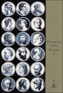 Lives of the Noble Grecians and Romans, Volume II