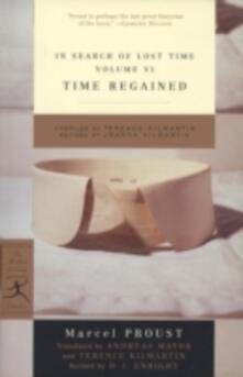 In Search of Lost Time, Volume VI