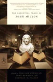 Essential Prose of John Milton