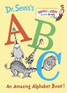 Dr. Seuss's ABC: An Amazing Alphabet Book! - Dr. Seuss - cover