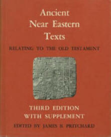Ancient Near Eastern Texts Relating to the Old Testament with Supplement - cover