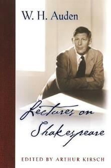 Lectures on Shakespeare - W. H. Auden - cover