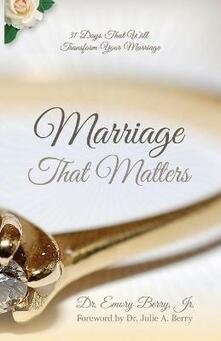 Marriage That Matters