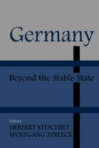 Germany: Beyond the Stable State - cover