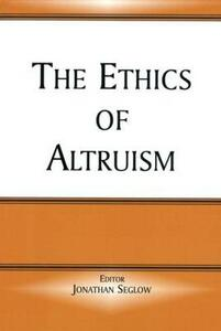 The Ethics of Altruism - cover