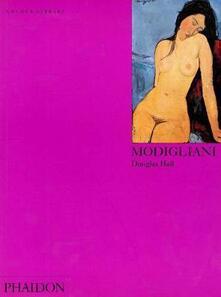 Modigliani. Ediz. inglese - Douglas Hall - copertina