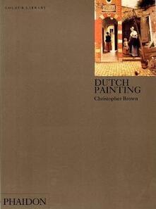 Dutch painting - Christopher Brown - copertina