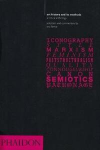 Art history and methods - Eric Fernie - copertina