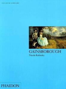 Gainsborough. Ediz. inglese - Nicola Kalinsky - copertina