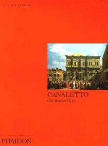 Canaletto - Christopher Baker - copertina