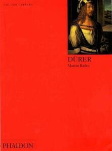 Dürer. Ediz. inglese - Martin Bailey - copertina