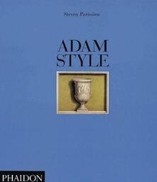 Adam style - Steven Parissien - copertina