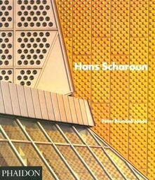 Hans Scharoun - Peter Blundell Jones - copertina
