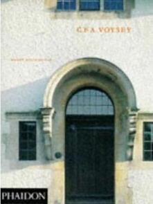 C.F.A Voysey - Wendy Hitchmough - copertina