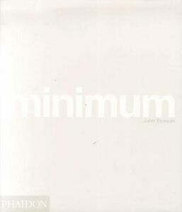 Minimum. Mini format. Ediz. inglese - John Pawson - copertina