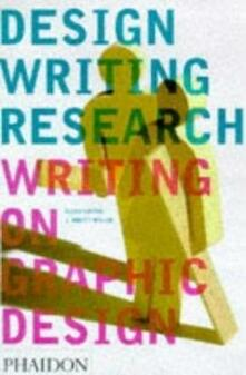 Design writing research - copertina