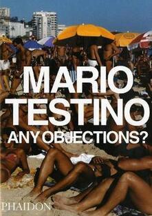 Any objections? - Mario Testino - copertina