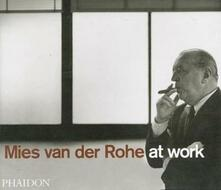 Mies van der Rohe at work - Peter Carter - copertina