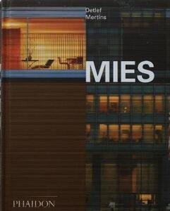 Mies. Ediz. inglese - Detlef Mertins - copertina