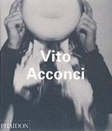 Vito Acconci - Frazer Ward - copertina