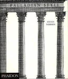 Palladian style - Steven Parissien - copertina