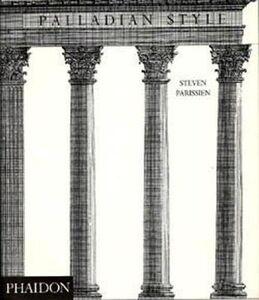 Libro Palladian style Steven Parissien