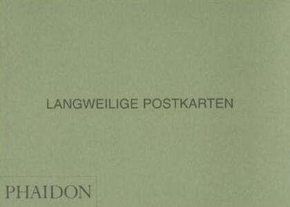 Langweilige postkarten - Parr - copertina