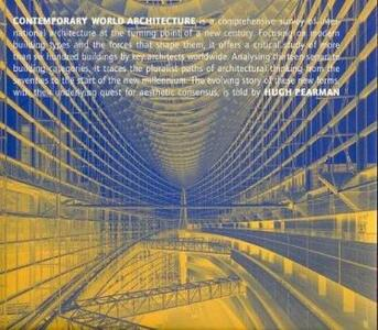 Contemporary world architecture - Hugh Pearman - copertina